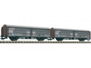 Set 2 wagons couverts DB Fleischmann HO - T2M-FL533705