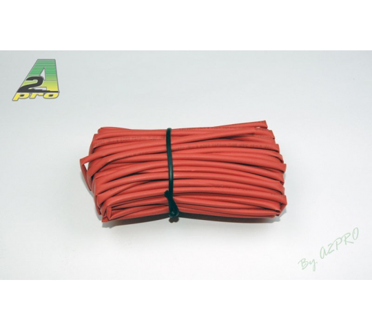 Tube thermo 2mm rouge (10m) A2PRO - A2P-160021-0