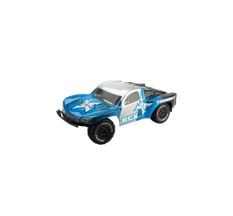 Torment 1/10 2WD RTR SCT: Silver/Blue by ECX - ECX03006i