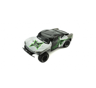 Torment 1/10 2WD RTR SCT: Black/Green  by ECX - ECX03007i