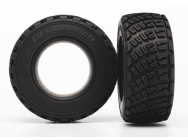 Tires, BFGoodrich Rally, gravel pattern, S1 compound (2)/ foam inserts (2) Traxxas - TRX-7471R