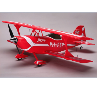 Pitts Special rouge, ARF, BL, servos Hype - HYP-018-2000