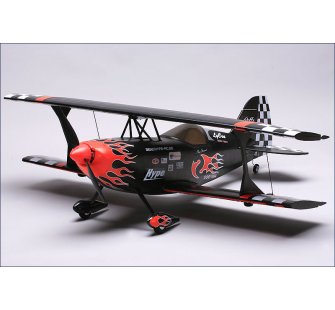 Pitts Special NOIR ARF, BL, servos Hype - HYP-018-2015