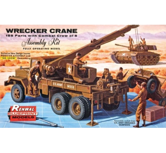 Military Wrecker Truck - Revell - REV-REVELL-17816