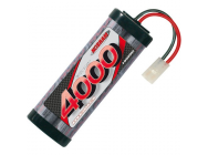 Team Pack 4000mah - 7.2V - 6 cellules NiMH Nosram - NOS99280