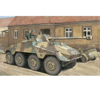 Sd.Kfz.234/4 Premium Edition Dragon 1/35 - T2M-D6772