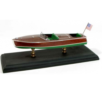 Chris-Craft 1949 19  Racer Runboat Maquette bois 1/24 - Dumas Boats - 1702