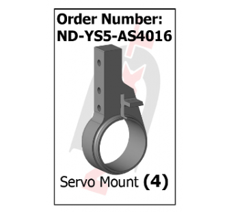 Support Servo Stingray 500 - Curtis Youngblood - REZ-ND-YS5-AS4016