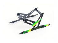 Carbon Landing Skid Set (Green) - Blade 130X - B130X11-G