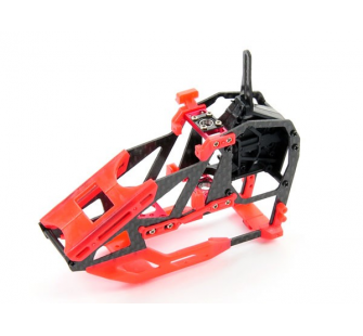 Carbon Fibre Frame Set -Blade 130X ( Red ) - B130X26-R
