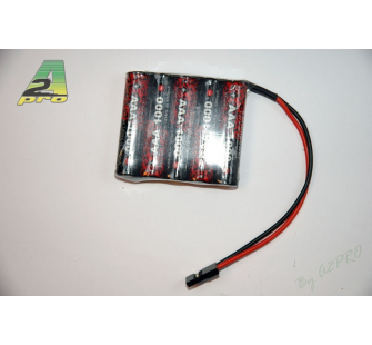 Pack Rx S 6.0V/AAA-1000 JR A2PRO - A2P-5105S
