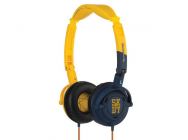 Skullcandy Lowrider Headphones - Yellow - Navy - S5LWDY-058-YEL-NAV