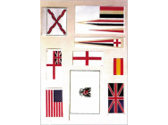 80190 UNION JACK FLAG 36x70mm  (1x6)  jp-5512040 - JP-5512040