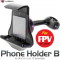 Phone Holder B model for FPV Walkera pour DEVO 4, 6, 6S, 7E - WALDEVO-HOLDB