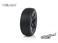 Tyre set pre-mounted  Velox RC M3 Soft  , fits  Buggy 1/8  17mm Hex Rims Medial Pro - MPR-MP-6405-M3