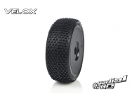 Tyre set pre-mounted  Velox RC M4 Super Soft  , fits  Buggy 1/8  17mm Hex Rims Medial Pro - MPR-MP-6405-M4