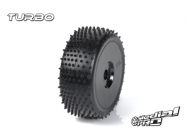 Tyre set pre-mounted  Turbo RC M4 Super Soft  , fits  Buggy 1/8  17mm Hex Rims Medial Pro - MPR-MP-6465-M4