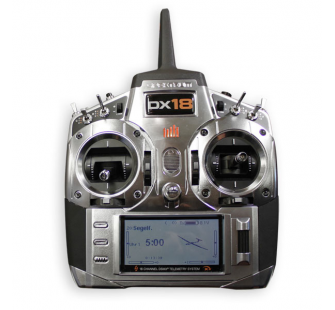 Spektrum DX18 - 2,4Ghz DsmX Mode 2 - SPMR18000EU-1
