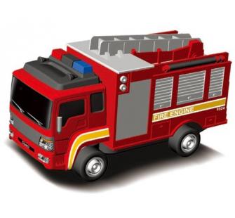 Fire truck camion pompier silverlit 83628 miniplanes - Camion pompier cars ...