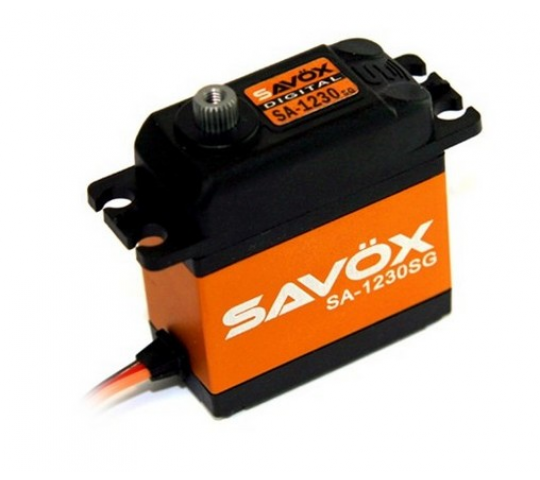SAVOX SA-1230SG DIGITAL CORELESS SERVO STEEL GEAR - SA-1230SG