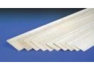 5.0mm x 100mm x 1mtr SHEET BALSA  jp-5518033 - JP-5518033