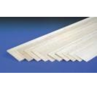 12mm x 100mm x 1mtr SHEET BALSA  jp-5518053 - JP-5518053