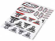Ten Rally-X - Planche de decoration - LOS239000 - LOS239000