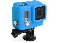 SILICONE Cover HERO3+  Bleu