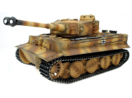 Char d assault RC 1/16 Geman Tiger Camo Full METAL (Bruit et Fumee) - REZ-TG3818-D