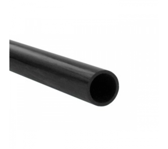 CARBON FIBRE ROUND TUBE 4.0mm x 3.0mm x 1mt  jp-5518420 - JP-5518420