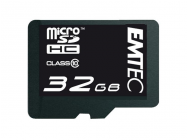 MicroSDHC 32GB EMTEC +Adapter CL10 mini Jumbo Extra - MKT-10761