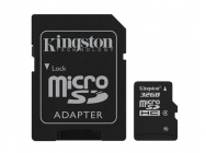 MicroSDHC 32GB Kingston CL4 - MKT-5953