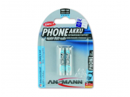 Pack de 2 pile rechargeable PHONE DECT AAA Micro 800mAh Ansmann - MKT-10129