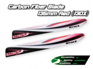 XCB135-A - Carbon Fiber Blade 135mm - Red (130X) - XCB135-A