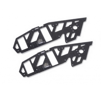 XMJX4506-A - Upper Carbon Side Frame -MJX F45 (2 pcs) - XMJX4506-A