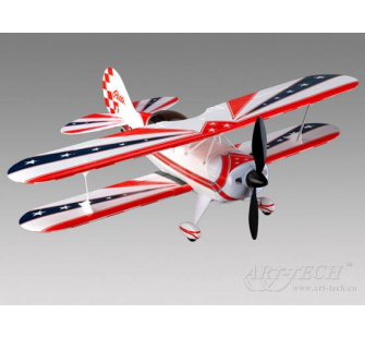 Pitts electrique version brushless Lipo complet PNP Art-Tech - 21065