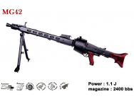 MG42 - AEG - Full metal - 1.1J - 6mm - RB0009
