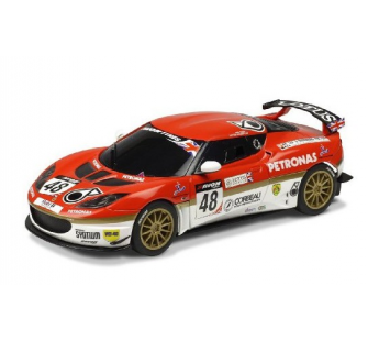 Voiture de Circuit - Lotus Evora Sports GB - Echelle 1:32 Scalextric - SCA3379 - SCA3379