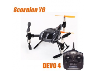 Scorpion Walkera RTF Devo 4 Mode 2 - WALSCORPION-RTF2