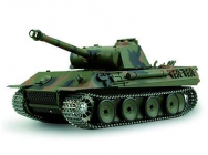Char RC Panzer HL Panther Son Fumee - Chenilles et Boite Metal