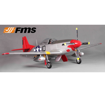 P51 Red tail (V7) PNP kit 1400MM FAMOUS - FMS-FMS088RE-COPY-1