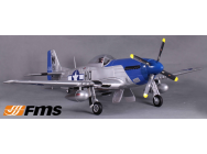P51 Petie 2nd (V7) PNP kit 1400MM FAMOUS - FMS-FMS088PI-COPY-1