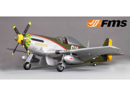 P51 Gunfighter(V7) PNP kit 1400MM FAMOUS - FMS-FMS088GU-COPY-1