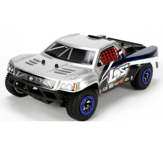 Micro SCT 4WD Off-Road Truck Argent - LOSI - LOSB0242IT2