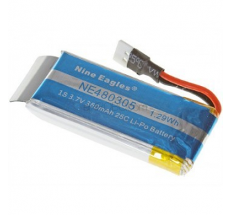 Lipo 1S 3.7V 350mAh 25C Galaxy Visitor 2 - Nine-Eagles - NE.480305
