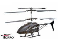 *Metalcopter  -Schwarz- Torro Metall Mini IR Helikopter Gyro 3,5-CH - 1122300107
