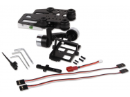 G-2D Brushless Gimbal + controler for GoPro 3 - iLook camera - WALG-2D