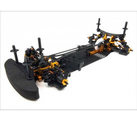 Chassis DETC410 4WD Kit - Team Durango - TD102023