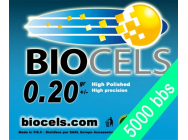 Biocels - Bille BIO Degradable 0.20g blanche 1kgr (5000 bbs) - BCS-20K01
