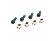 ECX 1/8th Buggy -Set de pivots de fusees (4) - ECX0823